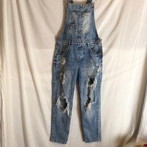 Tragaluces denim overalls XS